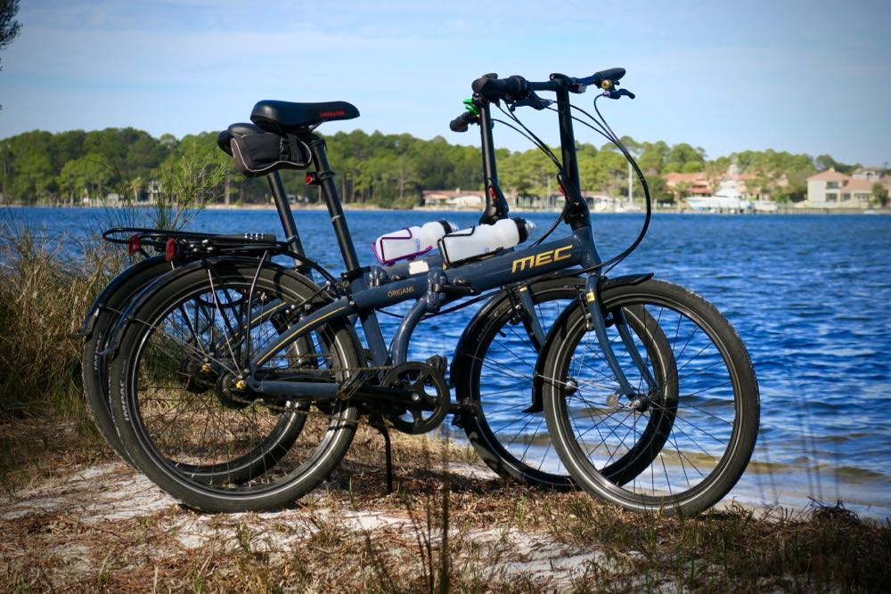 Folding bikes are not great at anything... however good for most of your biking needs when RVing