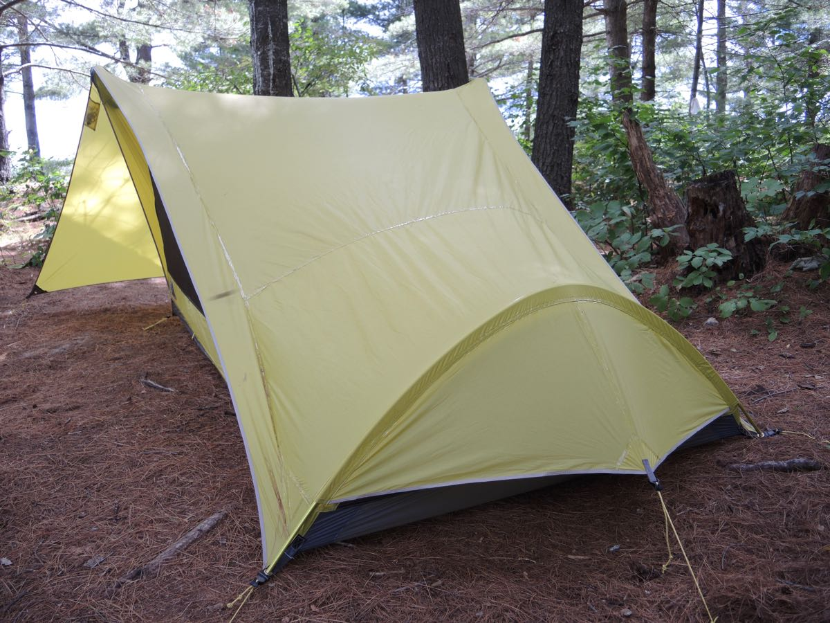 View from the back - making the tent tight is easy with the design. & Sierra Design Tensegrity 2 Elite